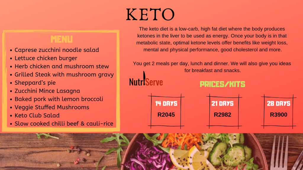 keto meal plans and keto meal delivery